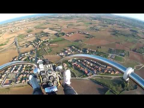 Vilacolum (Girona) desde el cielo   07 Octubre 2013
