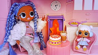 LOL Surprise OMG Winter Disco Fashion Doll ~ ! Let's play with LOL Snow angel! | PinkyPopTOY