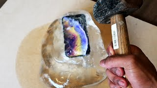 Will Huge LIQUID GLASS Putty Ball Save My iPhone X From HAMMER?