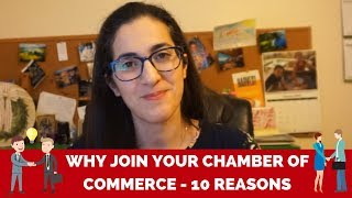Chamber of Commerce Benefits  | 10 Reasons why you should JOIN your Chamber of Commerce