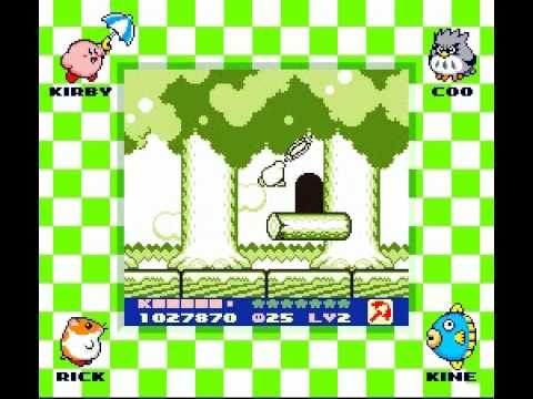 Kirby's Dream Land 2 Game Boy