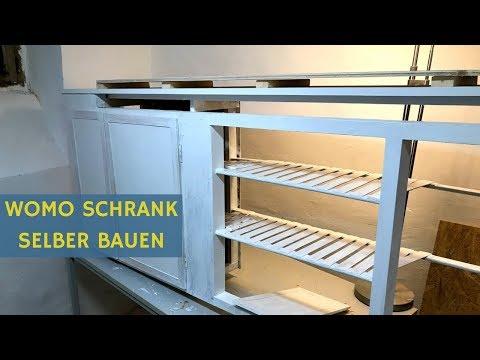 Wohnmobil Selbstausbau: Schrank bauen leicht gemacht?