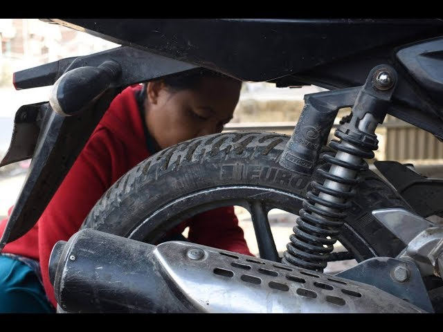 Anita and the art of motorcycle maintenance