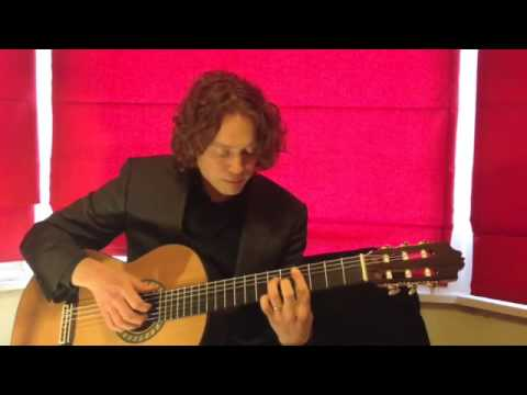 Ricky The Jazz Guitarist Video