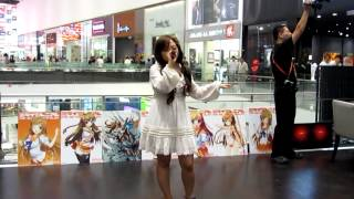 Guilty Crown - Euterpe cover at Culture Japan Night Malaysia