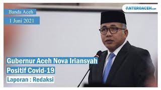 Video Gubernur Aceh Positif Covid-19