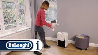 How to set up your De'Longhi dehumidifier