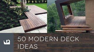 50 Modern Deck Ideas