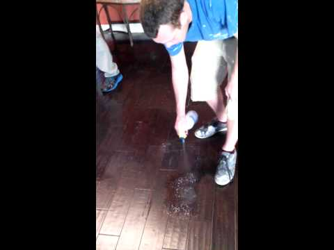 How to remove Mop n Glo from wood floors(2)