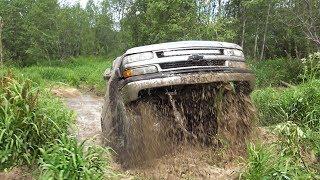 Чем Chevrolet Tahoe не УАЗ? Проехать по непроходимому!? Штурмуем болото, Русское бездорожье 2018