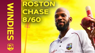 Roston Chase's Incredible 8 for 60! | England 2019 | Windies
