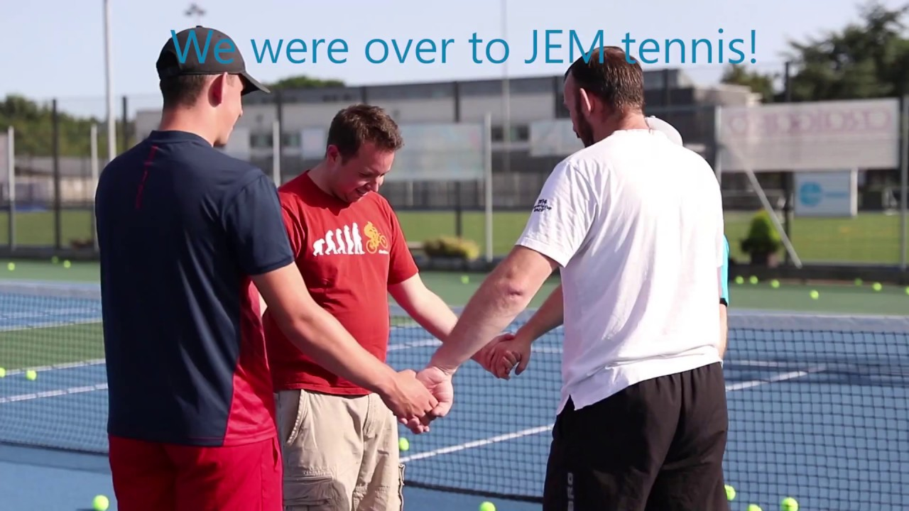 JEM tennis team social for Dynamics Consultants