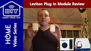 Leviton Smart Switch Plug In Dimmer and Appliance Module DIY Install & Review Setup with Wink Hub