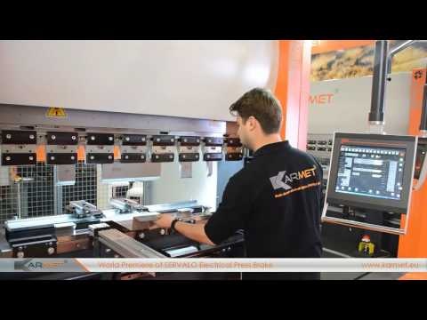 Karmet Bulgaria – Electrical Press Brakes Servalo Presentation