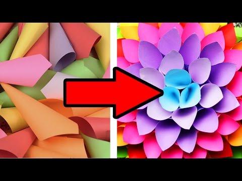 DIY БЮДЖЕТНЫЙ ДЕКОР КОМНАТЫ ТОЛЬКО ИЗ БУМАГИ / Room decor / Оригами / СВОИМИ РУКАМИ 🐞 Afinka