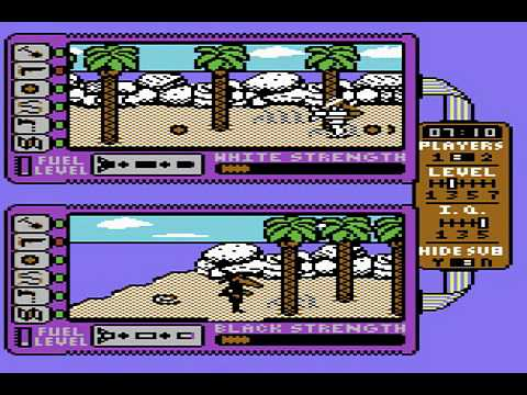 C64 Longplay - Spy Vs, Spy II