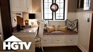 Cozy Kitchen Nook With Built-In Storage - HGTV