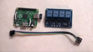 Raspberry Pi: 4-channel Relay step-by-step with example scripts for home automation