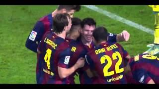 Lionel Messi- Gole w La Liga 2014/15