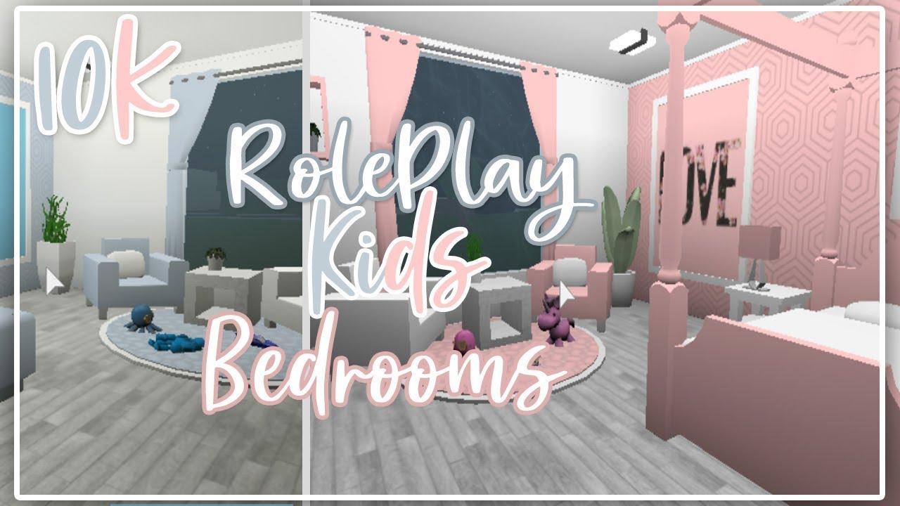 Welcome To Bloxburg Ii 10k Roleplay Kids Bedrooms Ii Boys And Girls