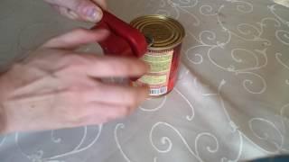 Удобный и безопасный консервный нож от компании Alexel - видео