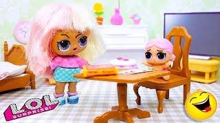 СМЕШНЫЕ Куклы ЛОЛ Сюрприз #36   Мультики и Весёлые Игрушки LOL Dolls Surprise
