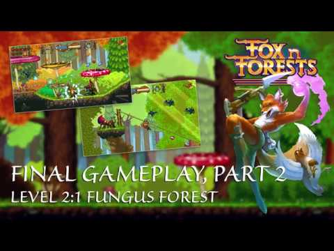 FOX n FORESTS - Gameplay 2018 - Fungus Forest thumbnail