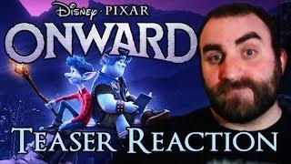 Onward (Disney-Pixar) Teaser Trailer Reaction