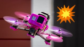 Hole in one! ????️- FlyNorthRC - Laisvall - FPV drone Freestyle - T-Motor FT5 - Dji FPV