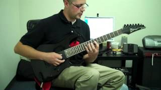 "Guitar lesson - Arch Enemy ""I am Legend/Out for Blood"" Guitar Intro"