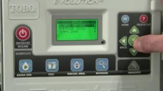 Guida alla programmazione della centralina Toro Evolution