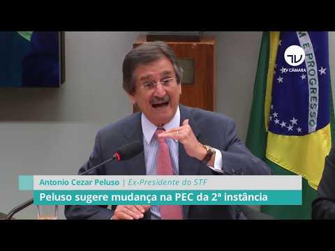 Peluso sugere mudança na PEC da 2ª instância - 05/02/20