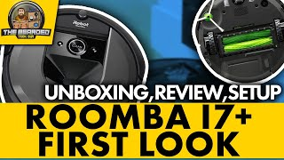 Roomba i7+  First Look: Unboxing, review, 980 comparison, setup, and first time cleaning job