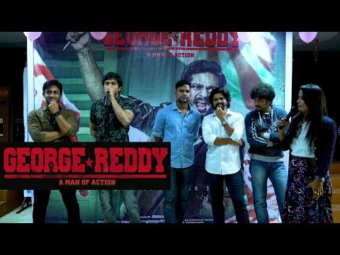 george-reddy-team-in-a-college-for-promotions