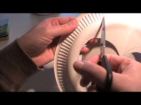 Anleitung - Aus Pappteller Hüte basteln