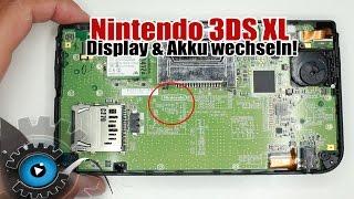 Nintendo3DSXLDisplay&AkkuWechselnTauschenReparaturReview/Unboxing[Deutsch]Disassembly
