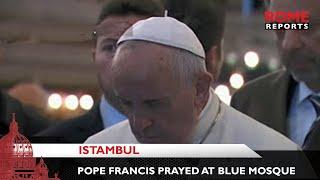 GH Francis cầu nguyện tại thánh đường Hồi Giáo