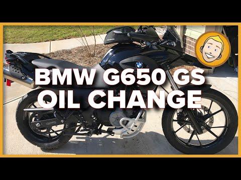 Bmw G650 Gs Oil Change