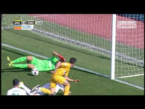 ΒΙΝΤΕΟ: ΑΠΟΕΛ 1-0 ΟΜΟΝΟΙΑ, #30η αγωνιστική