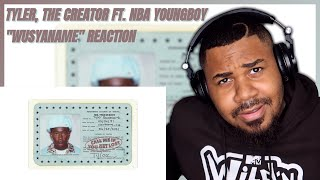 Tyler, The Creator Ft. NBA Youngboy - WUSYANAME (Audio) REACTION