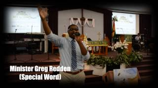 Minister Greg Redden @ My Crown of Glory