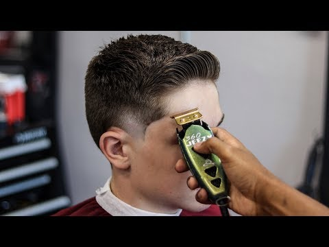HAIRCUT TUTORIAL: BURST TAPER ON STRAIGHT HAIR