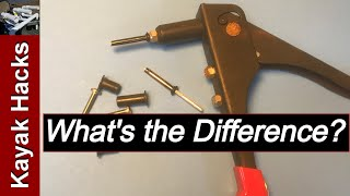 Well Nuts Vs Rivets For Kayak Accessories Installation