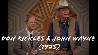 Don Rickles TV Special, 1975  (John Wayne)