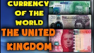 Currency of the world - United Kingdom. British pound sterling. Exchange rates United Kingdom