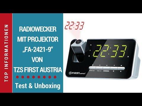 """► Test-Video des Radioweckers """"FA-2421-9"""" von TZS First Austria auf Deutsch ☑"""