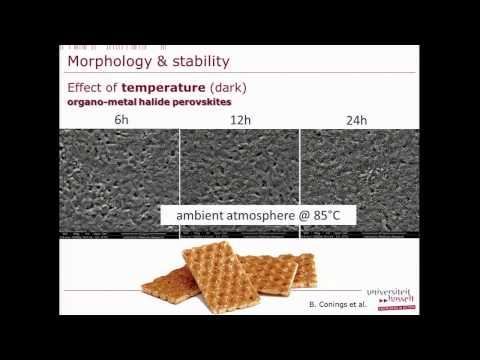 Jean Manca - Fotovoltaica orgánica a condiciones extremas de temperatura
