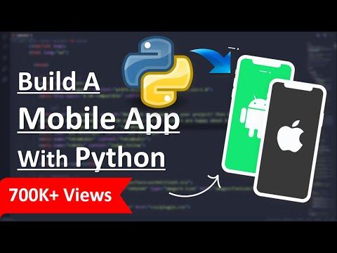 Python Project || Build A Mobile App With Python 🔥 kivy python tutorial
