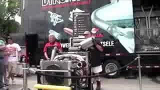 Live Dynomax Muffler Demonstration - Hear them run!