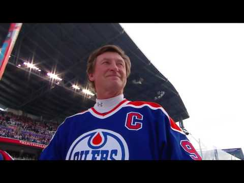 Oct.22/2016    Alumni Game   Edmonton Oilers - Winnipeg Jets